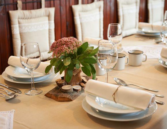 Odprti za poslovna kosila, večerje, zajtrke in sestanke